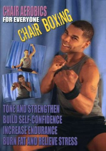CHAIR AEROBICS FOR EVERYONE-CHAIR BOXING (DVD) DVD Image