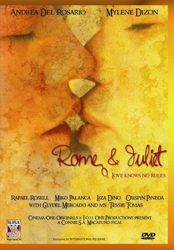 Rome & Juliet - Philippines Filipino Tagalog DVD Movie DVD Image