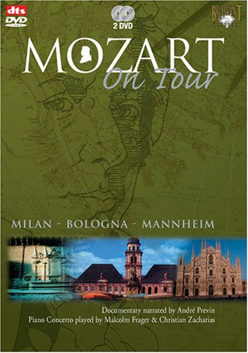 Mozart On Tour, Part 2: Milan: Malcolm Frager (Foreign Media Group) DVD Image