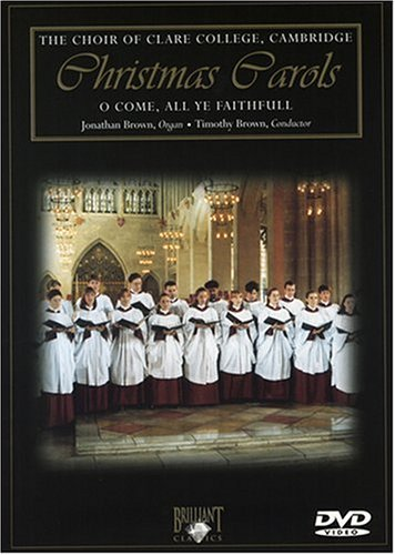 The Choir of Clare College, Cambridge: Christmas Carols DVD Image