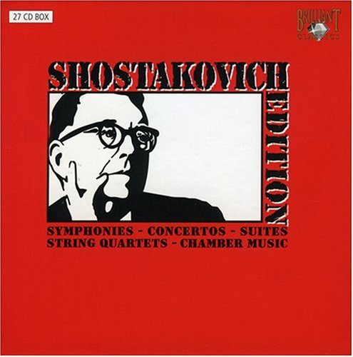 Shostakovich Edition complete symphonies [Box Set] [Includes Interview DVD] DVD Image