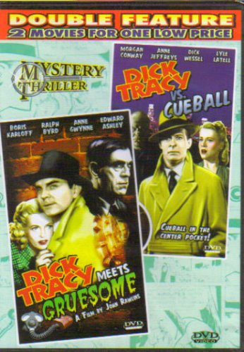 Dick Tracy Meets Gruesome + Dick Tracy Vs. Cueball (Double Feature) DVD Image