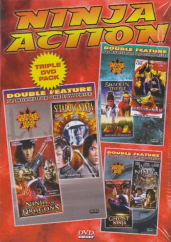 Ninja Action 3 Pack [6 Movies] DVD Image