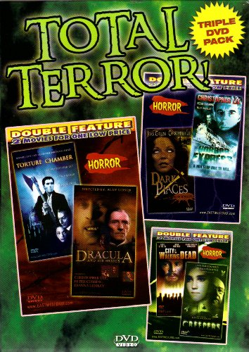 Creepers+City of the Walking Dead+Torture Chamber+Dracula and His Brides+Dark Places+Horror Express[Triple DVD Pack & Double Feature] DVD Image