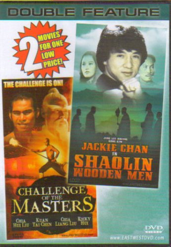 Shaolin Wooden Men / Challenge Of The Masters [Slim Case] DVD Image