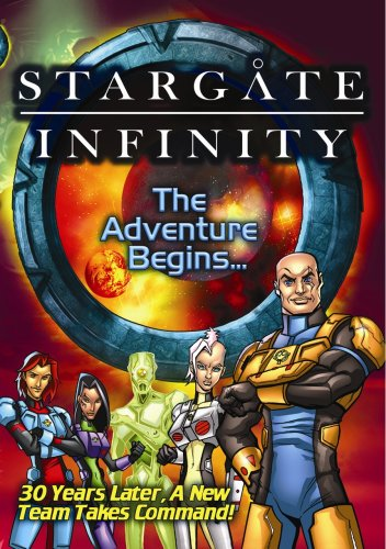 Stargate Infinity: The Adventure Begins DVD Image