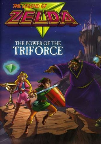 The Legend of Zelda: Power of the Triforce DVD Image