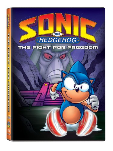 Sonic the Hedgehog: The Fight for Freedom DVD Image