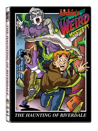 Archie's Weird Mysteries: Haunting of Riverdale DVD Image