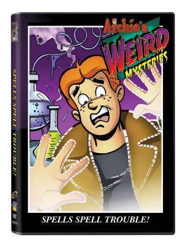 Archie's Weird Mysteries: Spells Spell Trouble DVD Image