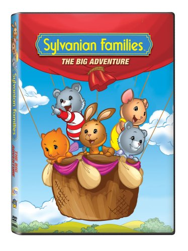 Sylvanian Families: The Big Adventure (DIC Entertainment) DVD Image