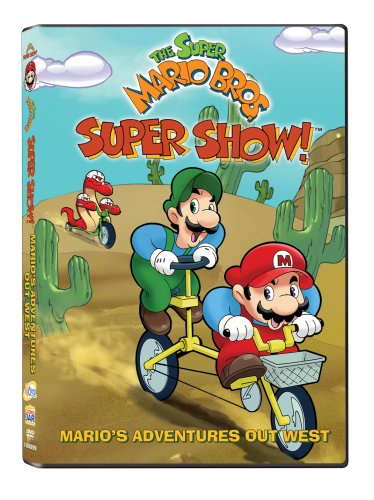 Super Mario Bros. Super Show!: Mario's Adventures Out West DVD Image