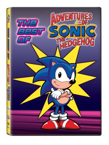 Best of the Adventures of Sonic the Hedgehog DVD Image