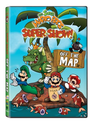 Super Mario Brothers Super Show!: Off The Map DVD Image