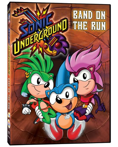 Sonic Underground: Band on the Run DVD Image