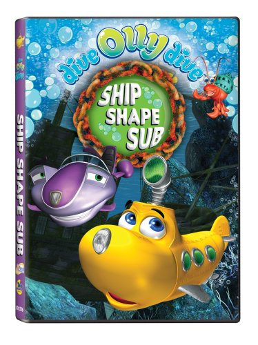 Dive Olly Dive: Ship Shape Sub DVD Image