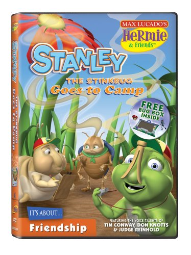 Hermie and Friends: Stanley the Stinkbug Goes to Camp DVD Image