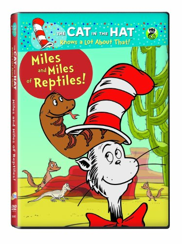 Cat in the Hat: Miles & Miles of Reptiles DVD Image