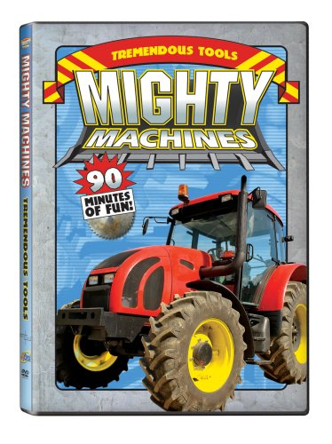 Mighty Machines: Tremendous Tools DVD Image