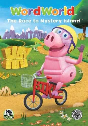 WordWorld: The Race to Mystery Island DVD Image