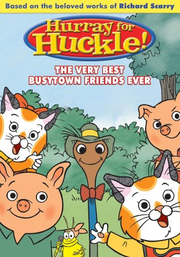 Hurray for Huckle: The Very Best Busytown Friends Ever! DVD Image