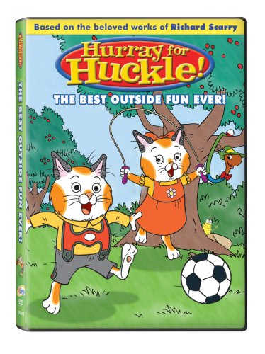 Hurray for Huckle: The Best Outside Fun Ever! DVD Image