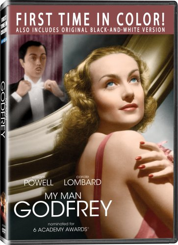 My Man Godfrey (Color + Black-and-White) DVD Image
