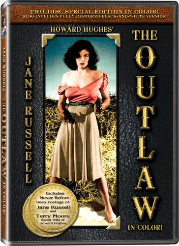 The Outlaw - In COLOR! - 2 DVD SET with video commentary by Jane Russell and Terry Moore - Also Includes the Original Black-and-White Version which has been Beautifully Restored and Enhanced! DVD Image