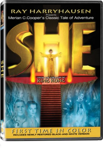 She - In COLOR! Also Includes the Original Black-and-White Version which has been Beautifully Restored and Enhanced! DVD Image