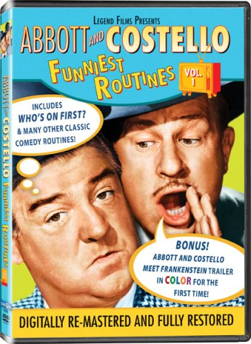 Abbott and Costello: Funniest Routines, Vol. 1 DVD Image