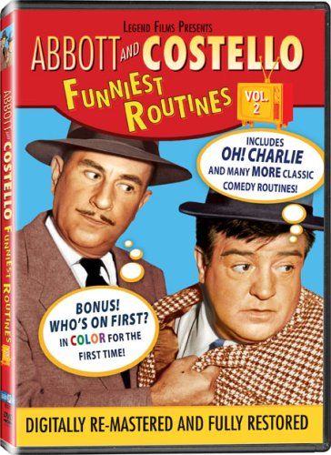 Abbott and Costello: Funniest Routines, Vol. 2 DVD Image