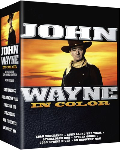 John Wayne Movie 6-pk - All 6 Movies are In COLOR! Also Includes the Original Black-and-White Versions which have been Beautifully Restored and Enhanced! DVD Image