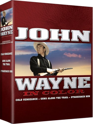 John Wayne In Color (3-Disc): Cold Vengeance / Guns Along The Trail / Stagecoach Run DVD Image