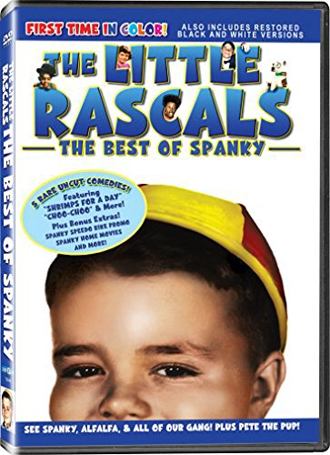 The Little Rascals in The Best of Spanky - All of the Shorts are Now In COLOR! Also Includes the Original Black-and-White Versions which have been Beautifully Restored and Enhanced! DVD Image