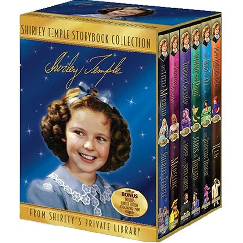 Shirley Temple Storybook Collection 6-pk DVD Image
