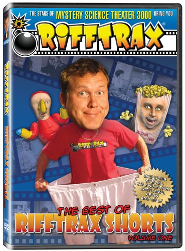 RiffTrax Shorts Volume 1 - from the stars of Mystery Science Theater 3000! DVD Image