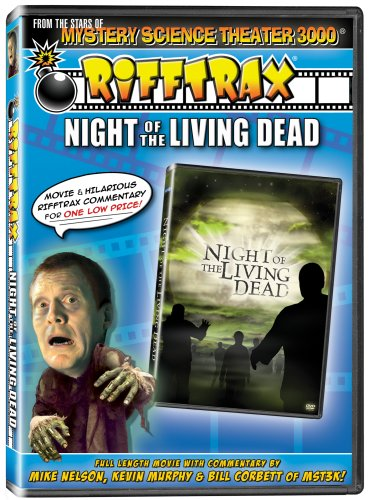 Rifftrax: Night of the Living Dead - from the stars of Mystery Science Theater 3000! DVD Image