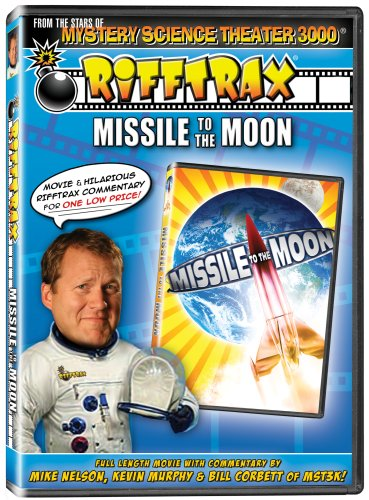 RiffTrax: Missile to the Moon - from the stars of Mystery Science Theater 3000! DVD Image