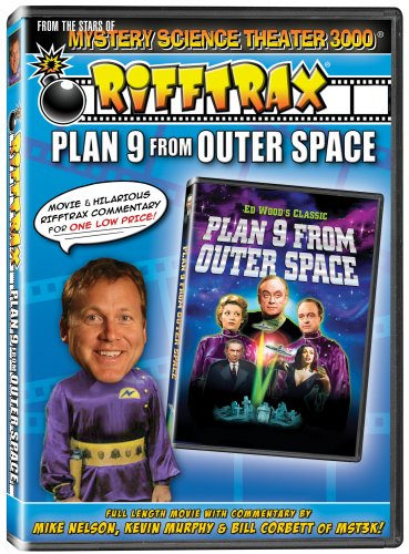 RiffTrax: Plan 9 From Outer Space - from the stars of Mystery Science Theater 3000! DVD Image