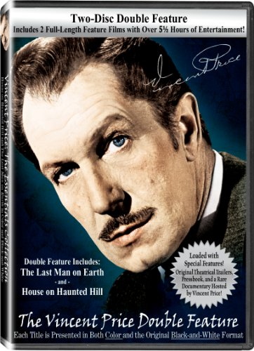 The Vincent Price Double Feature with House on Haunted Hill & The Last Man on Earth DVD Image