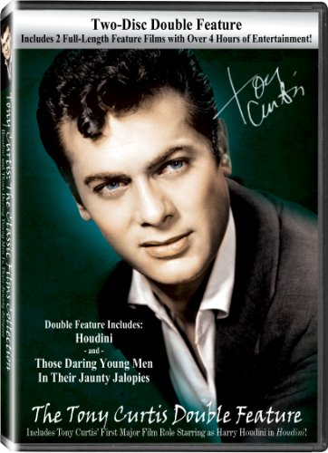 The Tony Curtis Double Feature with Houdini & Those Daring Young Men in Their Jaunty Jalopies DVD Image