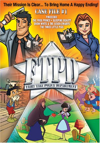 Fairy Tale Police Department: Case File #1 DVD Image
