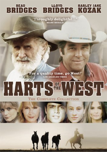 Harts of the West -  The Complete Collection DVD Image