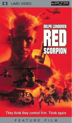 Red Scorpion [UMD for PSP] DVD Image
