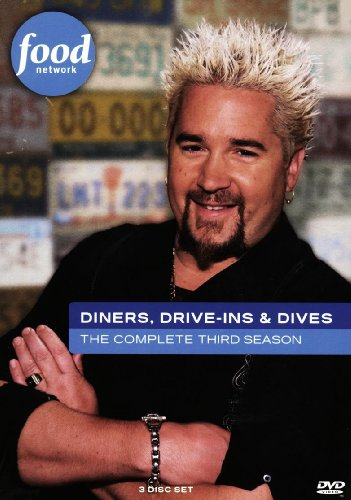 Diners, Drive-Ins & Dives: The Complete Third Season (3 DVD Set) DVD Image
