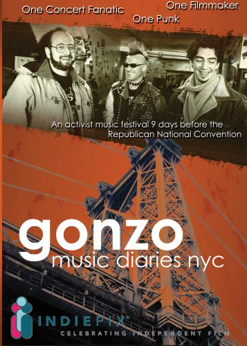 Gonzo Music Diaries, NYC DVD Image
