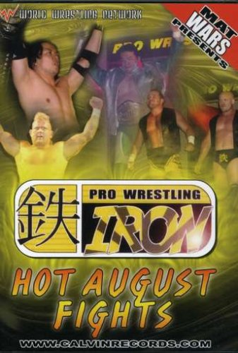 Mat Wars Presents: Hot August Fights DVD Image