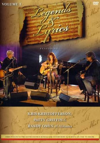 Kris Kristofferson / Patty Griffin: Legends & Lyrics, Vol. 1 DVD Image