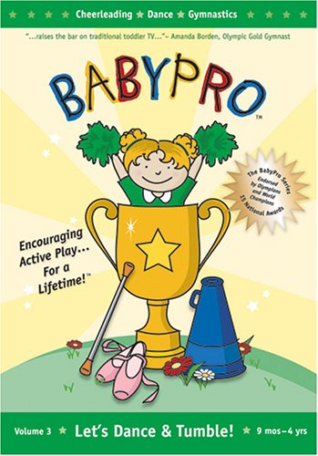 Baby Pro: Let's Dance & Tumble: Cheerleading - Dance - Gymnastics Sports (2005) DVD Image