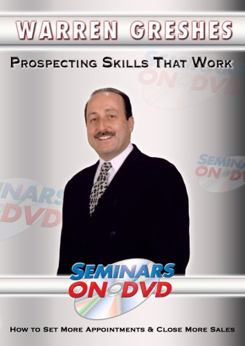 Prospecting Skills That Work - How to Set More Appointments & Close More Sales - Sales Training DVD Video DVD Image